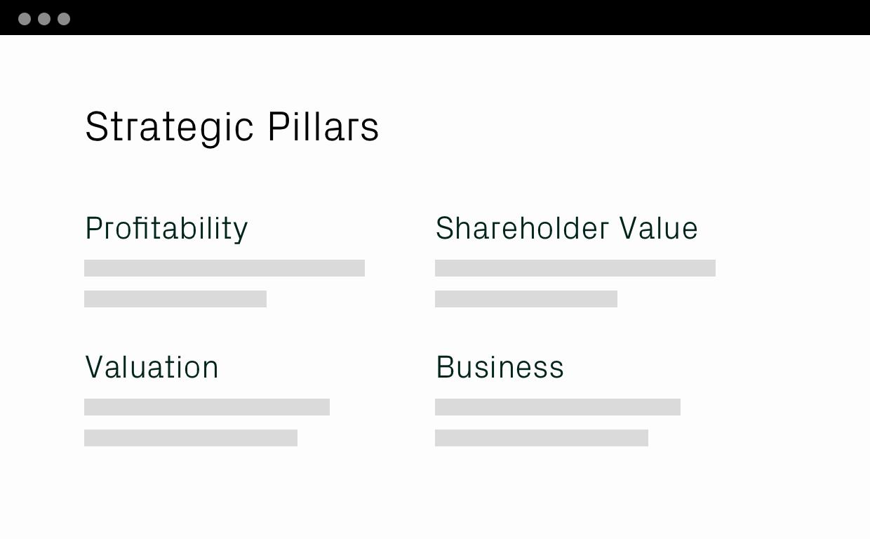 Strategic Pillars